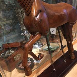 Beech Wood Articulated Artists Horse