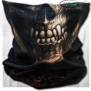 protective mask Goth Skull