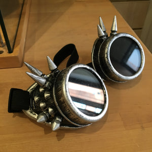 Goggles with Spiked Frame