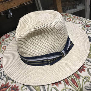 Straw Mayfair Panama hat