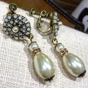 Miriam Haskell drop earrings