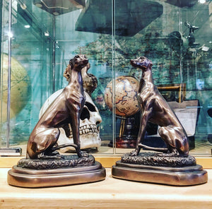Pair of Greyhound Bookends