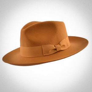 Gladwin Bond Grace Stiff and Snap Brim Fedora