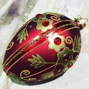 Faberge style bauble