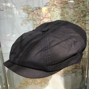 Waxed Alfie baker boy cap