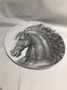 Horse Head Decorative Plate