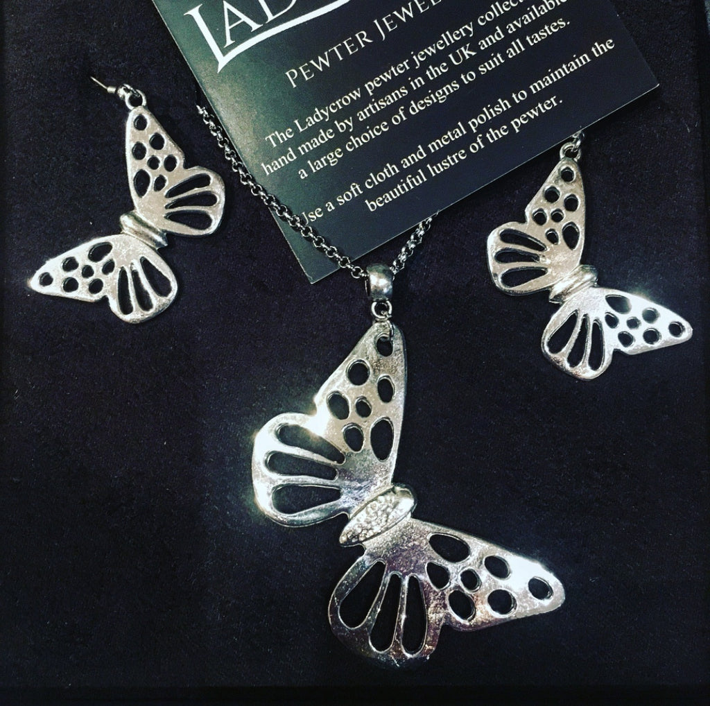 Butterfly Jewellery Gift Set