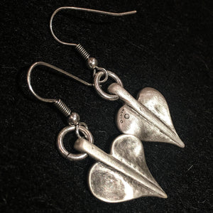 Danon Heart Drop Earrings
