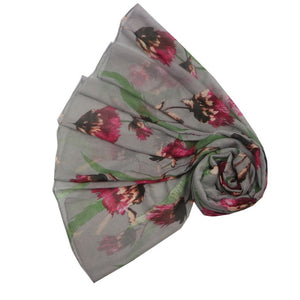 Scarf - Thistle Grey