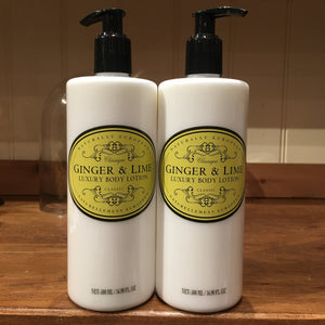 Naturally European Ginger and Lime 500ml Body Lotion