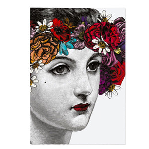 Flower Lady Journal Notebook