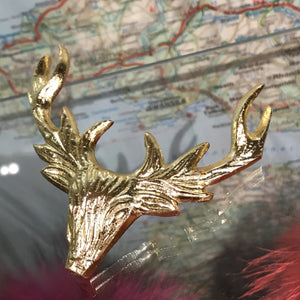 Stag candle embellishment decoration
