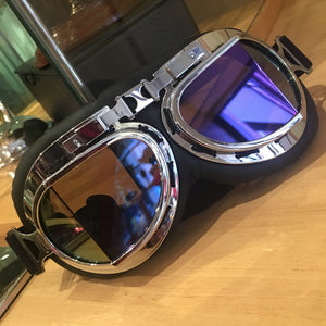 Goggles - angled lens