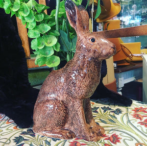 Ceramic Brown Hare Flower Vase