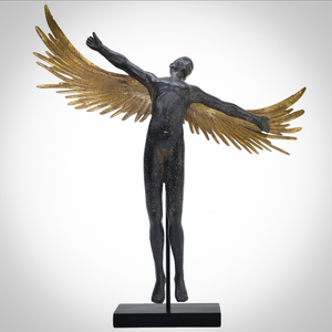 Male Angel With Outstretched Wings