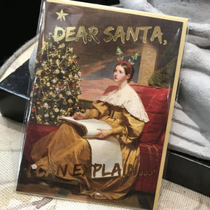 Card Dear Santa I Can Explain
