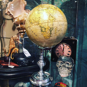 Globe on Nickel Plated Stand