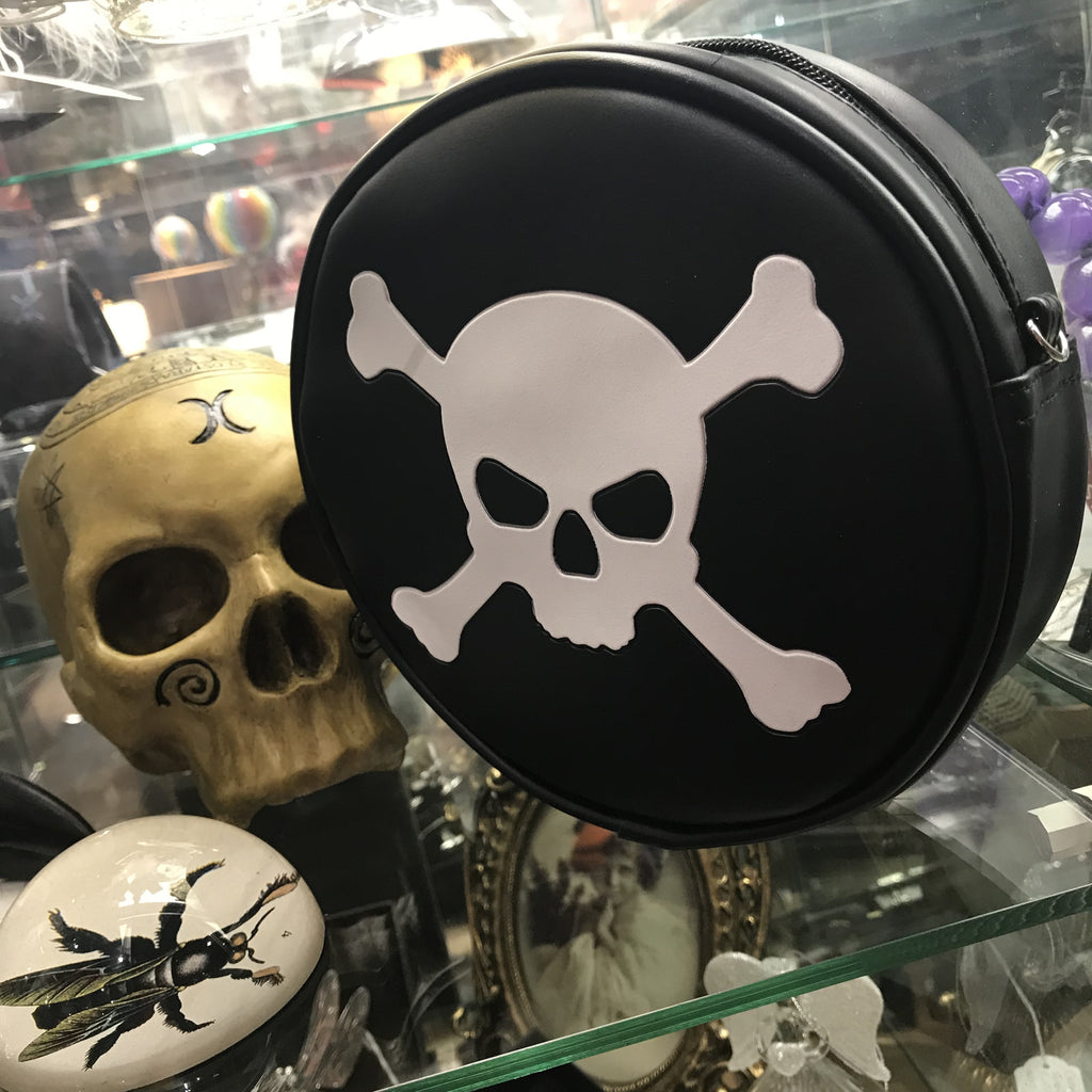 Skull and crossbones bag
