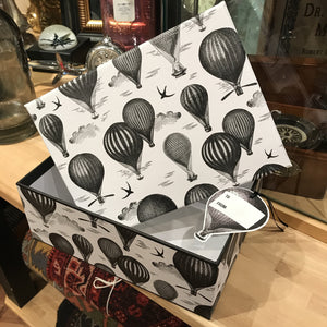 Hot Air Balloon Box and Gift Tag