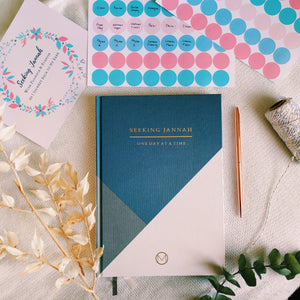 Seeking Jannah Undated Planner Bundle - Bleu