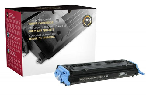 CIG Black Toner Cartridge for HP Q6000A (HP 124A)