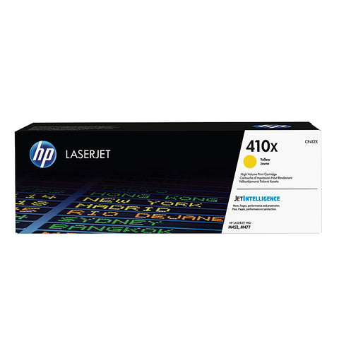 HP  410X (CF412X) XL YELLOW ORIGINAL TONER