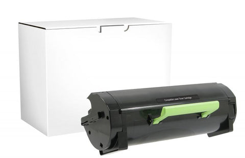 CIG Extra High Yield Toner Cartridge for Lexmark Compliant MS410/MS415/MS510/MS610/MX410/MX510/MX610