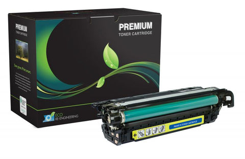 MSE Yellow Toner Cartridge for HP CE262A (HP 648A)