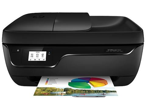 HP Officejet 3830 Color Inkjet All-in-One