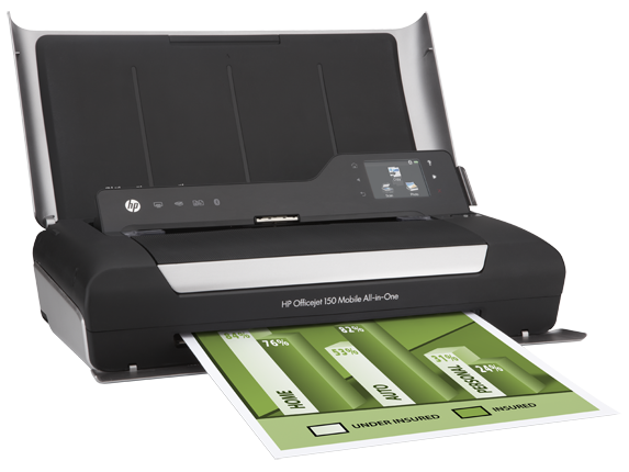 Hp Officejet 150 Mobile All In One Printer