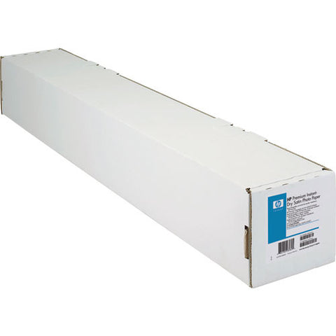 "HP HP Premium Instant-Dry Photo Paper 10.3 ml Satin 92 Bright (42"" x 100' Roll)"