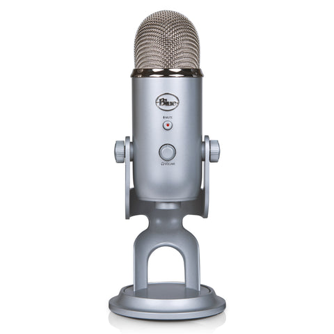 Blue USB Microphone Four Pattern
