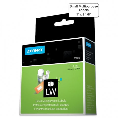 "3M LabelWriter Small Multipurpose Labels White (1 x 2-1/8"")"