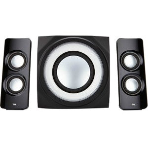 Cyber Acoustics 2.1 BT Lights Multi Media Spkr
