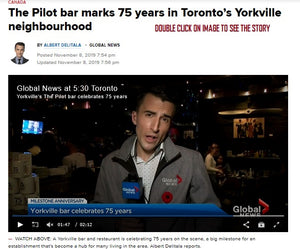 All That Jazz and More... Art Canvas @ The Pilot's 75th B'Day- Global TV Covers It, Yeh!!!