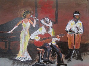 Jazz Trio Limited Edition Print