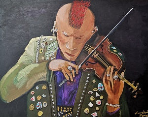 Punk Fiddler Limited Edition Print