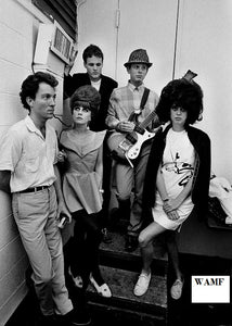 B52's, Paris, 1983, Limited Edition Print, signed by the celebrity photographer