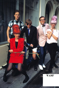 B52's, Paris, 1983 - 11, Limited Edition Print, signed by the celebrity photographer