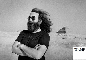 Jerry Garcia, The Greatful Dead, Egypt, 1978, Limited Edition Print,  signed by the celebrity photographer,