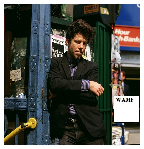 Tom Waits, New York, 1985, Limited Edition Print, signed by the celebrity photographer