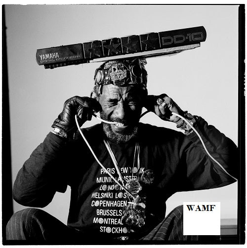Lee Scratch Perry, London, 1989, Limited Edition Print, signed by the celebrity photographer