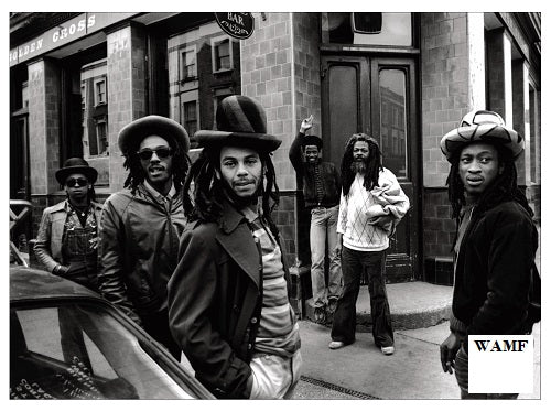 ASWAD on the All Saints Road, Limited Edition Print, signed by the celebrity photographer