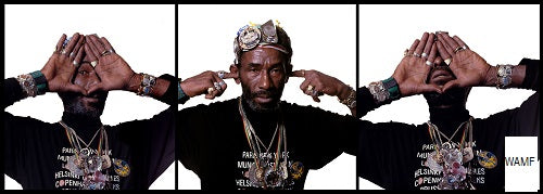 Lee Scratch Perry, London, 1989 - 11, Limited Edition Print, signed by the celebrity photographer
