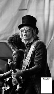 Tom Petty - Live Aid Philadelphia, 1985, Limited Edition Print, signed by the celebrity photographer