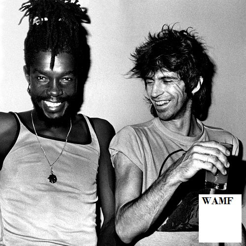 Peter Tosh, Keith Richards, Jamaica, 1978, Limited Edition Print, signed by the celebrity photographer