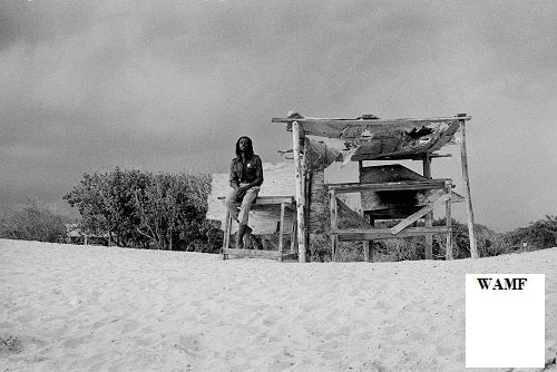Peter Tosh, Hellshire Beach, 1978, Limited Edition Print, signed by the celebrity photographer