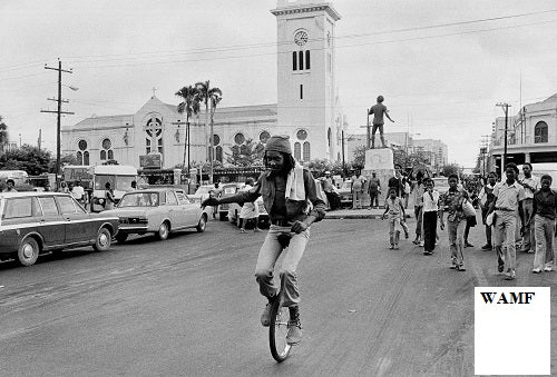 Peter Tosh, Monoscycle, 1978, Limited Edition Print, signed by the celebrity photographer