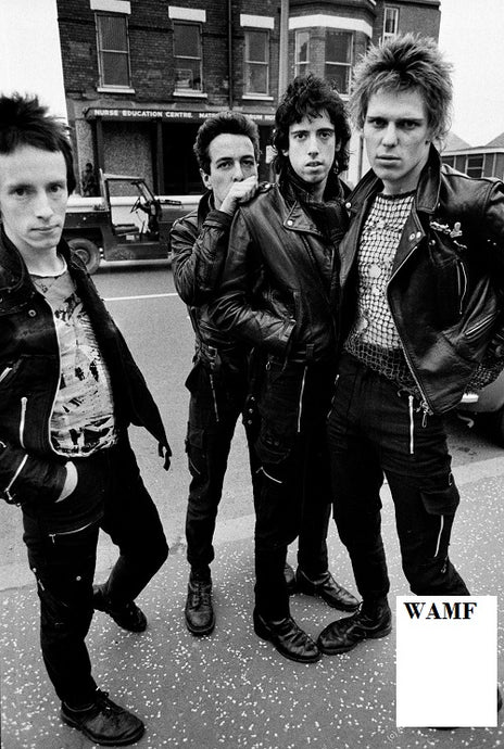 The Clash, Belfast - 1V, Limited Edition Print, signed by the celebrity photographer
