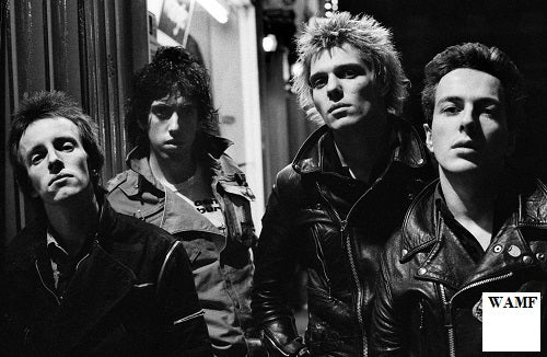 The Clash in Belfast, 1977 - 11, Limited Edition Print, signed by the celebrity photographer